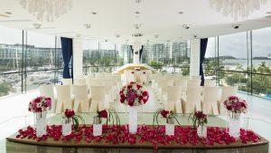 NOVA Room wedding setup