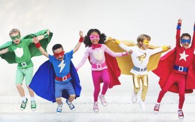 Princesses & Superheroes Halloween Party